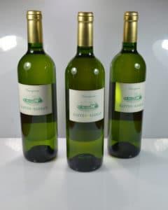 Vin Sauvignon 2015 Les bouteilles