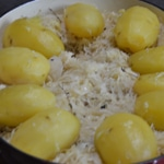 Choucroute à la graisse de canard Choucroute cuite