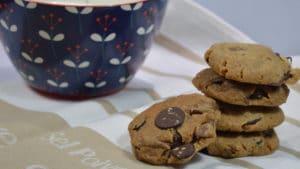 Recette de Cookies aux pépites de chocolat noir et au lait