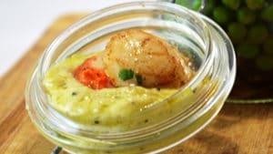 Recette de Sauce wasabi et côte du jura