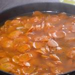Carottes aux oignons Mouiller les carottes