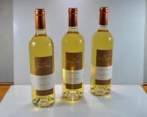 Clos thou cuvée Julie Les bouteilles