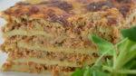 Lasagnes au jambon et poulet