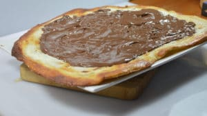 Pizza au Nutella