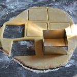Tarte au citron revisitée Couper la pâte sablée