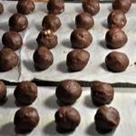 Cookies aux macadamia caramélisées Préparer en boule