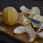 Explosion de fraîcheur citronné Tirer les suprêmes