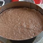 Gâteau tout chocolat Génoise cuite
