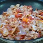 Gras double à la tomate Ajouter la tomate