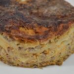 Lasagnes à la butternut Couper des rondelles de mozzarella