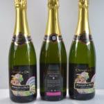 Crémant de Die Domaine Poulet & fils Les bouteilles