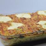 Lasagnes de cabillaud Lasagnes cuites