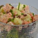 Salade saumon et pomme de terre