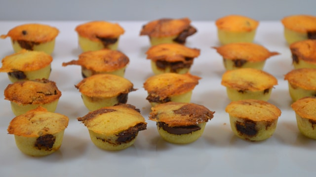 Financier au Nutella