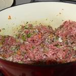 Lasagnes aux tomates confites Griller la viande
