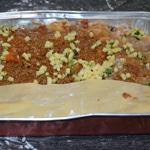 Lasagnes aux tomates confites Monter les lasagnes