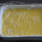 Moelleux à la fève de Tonka Préparer la crème Anglaise