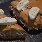 Croque monsieur au jambon Mozzarella