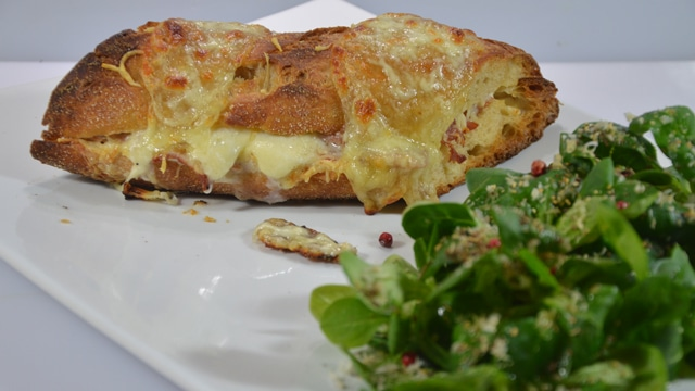 Croque monsieur au jambon