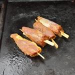 Magret de canard au barbecue Cuire doucement
