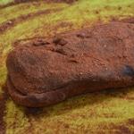 Magret de canard séché et paprika Frotter le magret avec la paprika