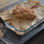 Lasagnes à la dinde Une couche de pâte une couche de viande
