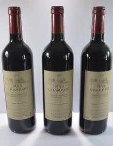 Domaine Mas Champart Les bouteilles
