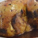 Poulet aux épices Poulet cuit