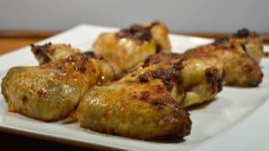 Recette de Ailes de poulet au four