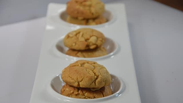 Cookies aux cacahuètes salées