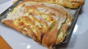 Recette de Fougasse aux 4 fromages
