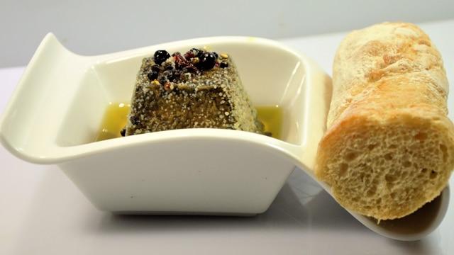 Chèvre sec à l'huile d'olive