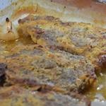 Côte de porc moutardées Moutarder généreusement