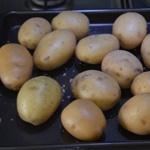 Parmentier de cabillaud Cuire les pommes de terre