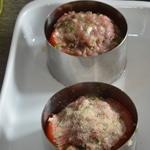 Tomates farcies revisitées Poser la farce