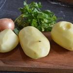 Aiguillette de canard à la graisse de foie gras Préparer les légumes