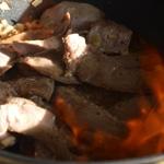 Aiguillette de canard à la graisse de foie gras Laisser réduire