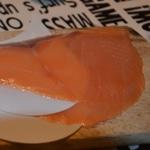 Feuilleté au saumon revisité Trancher le saumon fumé