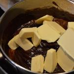 Foret noir Ajouter le beurre