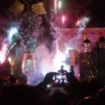 La fête à Beaujeu pour le Beaujolais nouveau