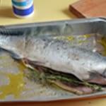 Lasagnes au saumon épinards Cuire le saumon