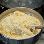 Lasagnes au saumon épinards Préparer la béchamel
