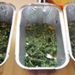 Lasagnes au saumon épinards Commencer par les épinards