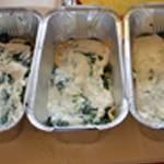 Lasagnes au saumon épinards Puis ajouter le saumon
