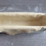 Pâté en croute au foie gras Poser la pâte délicatement