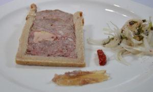 Pâté en croûte et foie gras