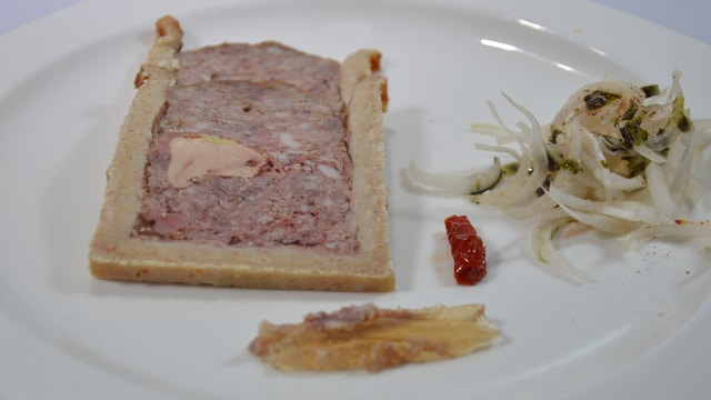Pâté en croute au foie gras