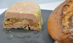 Terrine de foie gras figues et balsamique