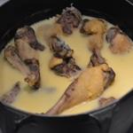 Cassoulet au confit de canard Fondre la graisse du confit