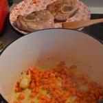 Osso bucco de veau Ajouter les carottes